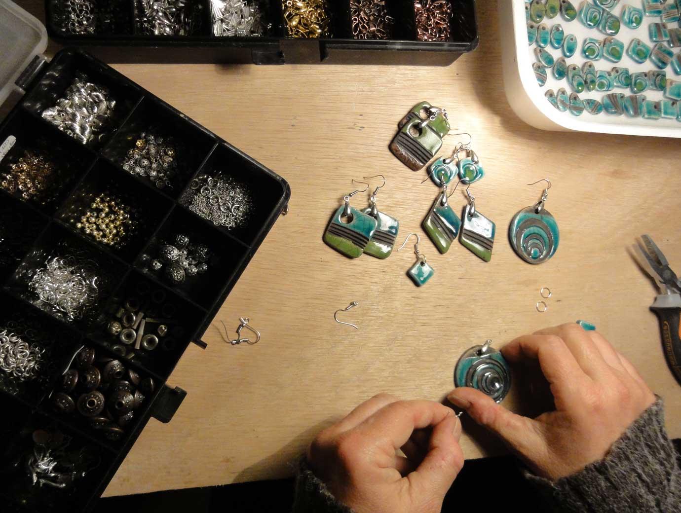 Montage des bijoux