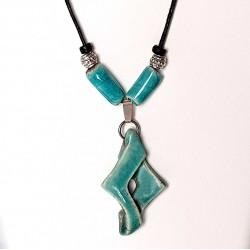 Collier tendance turquoise unique et original