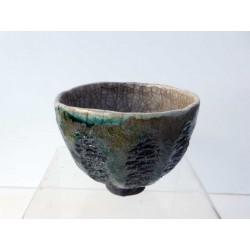 Bol à thé raku esprit nature