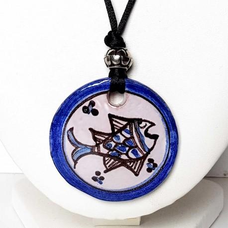 Collier poisson inspiré du Moyen-âge
