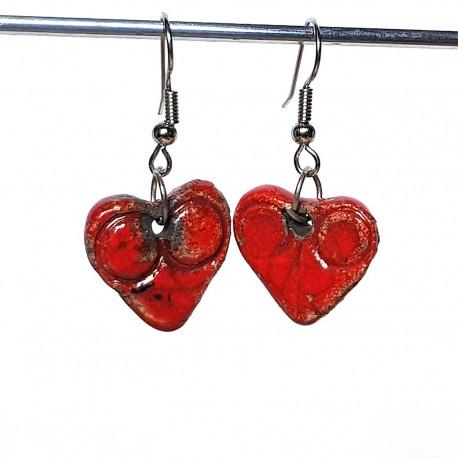 Petits cœurs rouges