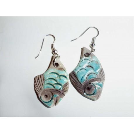 Boucles d'oreilles poissons